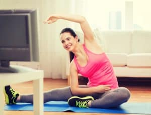 stretching at home fitness tips